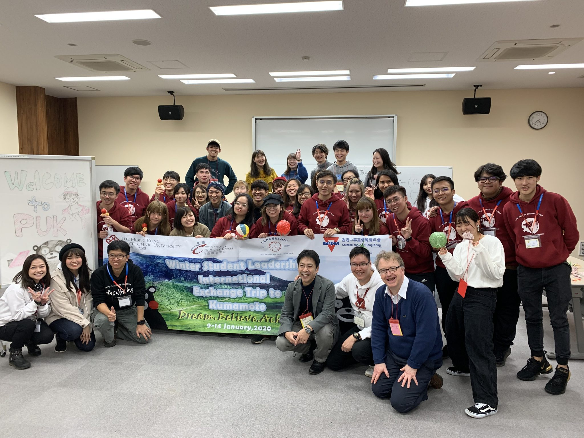 Time with the Students from Hong Kong!