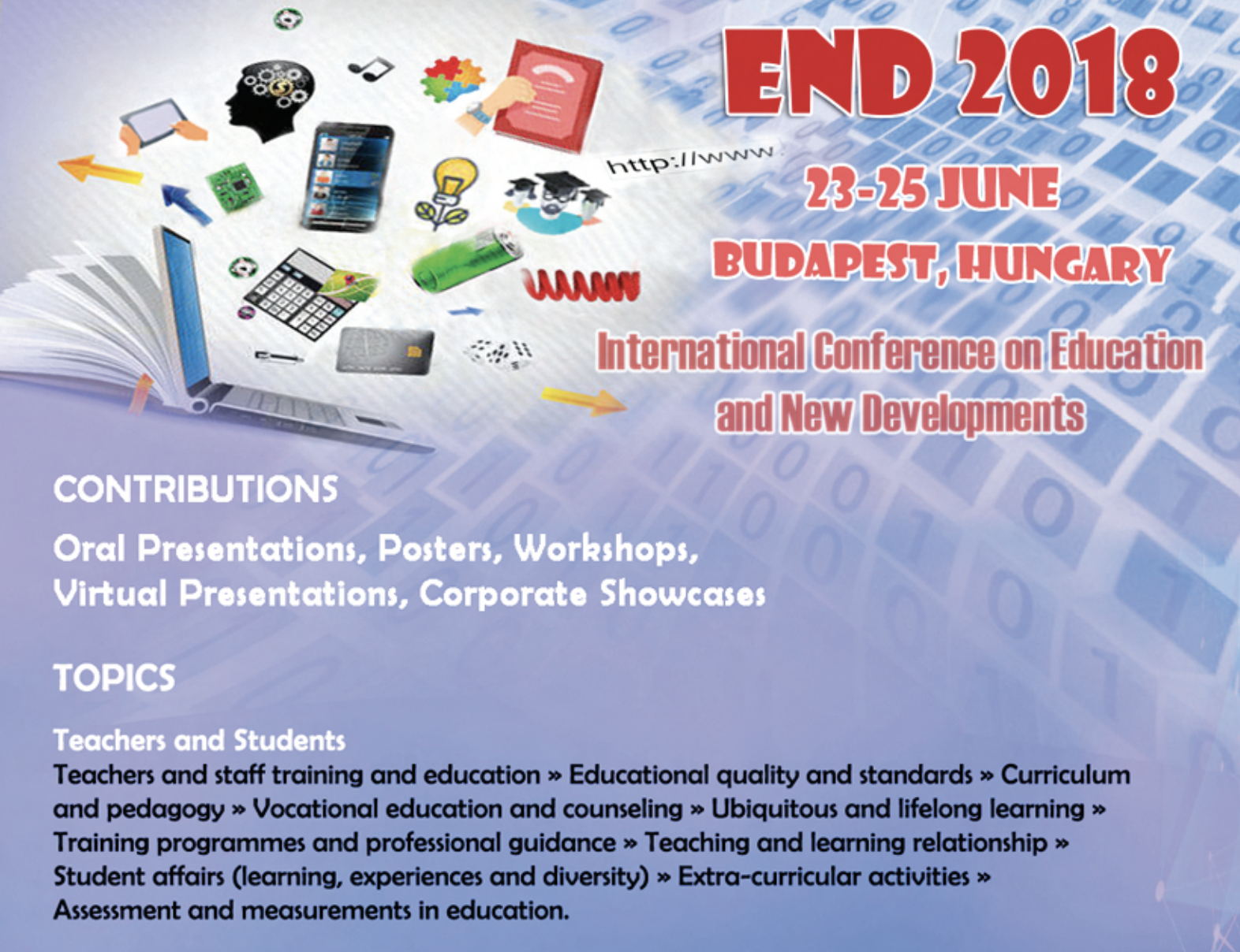 END 2018 Conference, Budapest